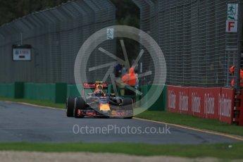 World © Octane Photographic Ltd. Red Bull Racing RB12 - Daniil Kvyat. Friday 18th March 2016, F1 Australian GP Practice 1, Melbourne, Albert Park, Australia. Digital Ref : 1516LB1D2945