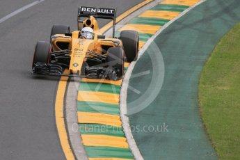 World © Octane Photographic Ltd. Renault Sport F1 Team RS16 - Kevin Magnussen. Saturday 19th March 2016, F1 Australian GP Qualifying, Melbourne, Albert Park, Australia. Digital Ref : 1521LB1D5238