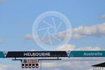 World © Octane Photographic Ltd. Red flagged race due to crash. Sunday 20th March 2016, F1 Australian GP Race, Melbourne, Albert Park, Australia. Digital Ref : 1524LB1D7302