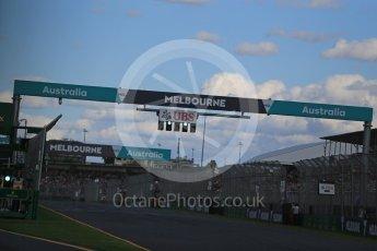 World © Octane Photographic Ltd. Sunday 20th March 2016, F1 Australian GP Race, Melbourne, Albert Park, Australia. Digital Ref : 1524LB1D7426