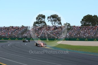 World © Octane Photographic Ltd. Scuderia Ferrari SF16-H – Kimi Raikkonen. Sunday 20th March 2016, F1 Australian GP Race, Melbourne, Albert Park, Australia. Digital Ref : 1524LB5D2199