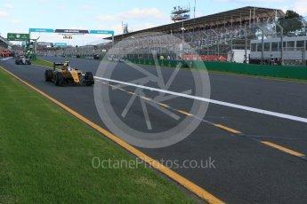 World © Octane Photographic Ltd. Renault Sport F1 Team RS16 – Jolyon Palmer. Sunday 20th March 2016, F1 Australian GP Race, Melbourne, Albert Park, Australia. Digital Ref : 1524LB5D2320