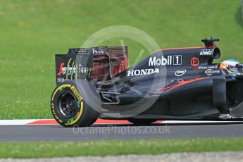 World © Octane Photographic Ltd. McLaren Honda MP4-31 (with new rear wing) – Fernando Alonso. Friday 1st July 2016, F1 Austrian GP Practice 1, Red Bull Ring, Spielberg, Austria. Digital Ref : 1598CB1D1925