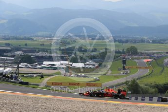 World © Octane Photographic Ltd. Red Bull Racing RB12 – Max Verstappen. Friday 1st July 2016, F1 Austrian GP Practice 1, Red Bull Ring, Spielberg, Austria. Digital Ref : 1598LB1D4968