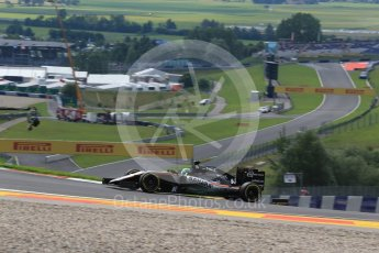 World © Octane Photographic Ltd. Sahara Force India VJM09 - Nico Hulkenberg. Friday 1st July 2016, F1 Austrian GP Practice 1, Red Bull Ring, Spielberg, Austria. Digital Ref : 1598LB1D5016