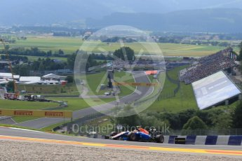 World © Octane Photographic Ltd. Manor Racing MRT05 – Rio Haryanto. Friday 1st July 2016, F1 Austrian GP Practice 1, Red Bull Ring, Spielberg, Austria. Digital Ref : 1598LB1D5126