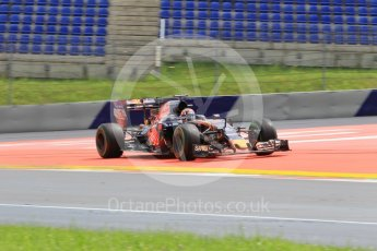 World © Octane Photographic Ltd. Scuderia Toro Rosso STR11 – Daniil Kvyat. Friday 1st July 2016, F1 Austrian GP Practice 2, Red Bull Ring, Spielberg, Austria. Digital Ref : 1600CB1D2653