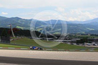 World © Octane Photographic Ltd. Sauber F1 Team C35 – Felipe Nasr. Friday 1st July 2016, F1 Austrian GP Practice 2, Red Bull Ring, Spielberg, Austria. Digital Ref : 1600LB1D5489