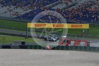 World © Octane Photographic Ltd. Scuderia Ferrari SF16-H – Kimi Raikkonen. Friday 1st July 2016, F1 Austrian GP Practice 2, Red Bull Ring, Spielberg, Austria. Digital Ref : 1600LB1D5506