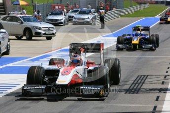 World © Octane Photographic Ltd. ART Grand Prix - GP2/11 – Rene Binder. Friday 1st July 2016, GP2 Practice, Red Bull Ring, Spielberg, Austria. Digital Ref : 1599CB5D2908