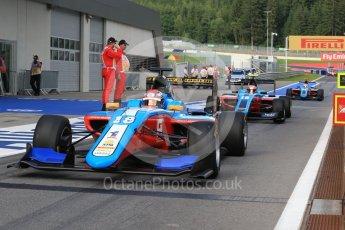 World © Octane Photographic Ltd. Jenzer Motorsport - GP3/16 – Akash Nandy, Richard Gonda andOscar Tunjo. Friday 1st July 2016, GP3 Practice, Red Bull Ring, Spielberg, Austria. Digital Ref : 1603LB1D5759