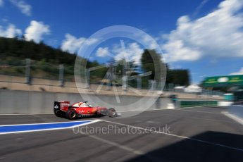 World © Octane Photographic Ltd. Scuderia Ferrari SF16-H – Sebastian Vettel. Saturday 27th August 2016, F1 Belgian GP Practice 3, Spa-Francorchamps, Belgium. Digital Ref : 1687LB2D4045