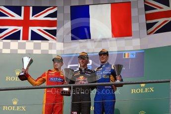 World © Octane Photographic Ltd. Prema Racing - GP2/11 – Pierre Gasly, Racing Engineering - GP2/11 – Jordan King and DAMS - GP2/11 – Alex Lynn. Saturday 27th August 2016, GP2 Race 1, Spa-Francorchamps, Belgium. Digital Ref : 1682LB1D0867