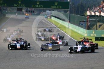 World © Octane Photographic Ltd. Koiranen GP - GP3/16 – Matevos Isaakyan. Sunday 28th August 2016, GP3 Race 2, Spa-Francorchamps, Belgium. Digital Ref : 1689LB1D1135