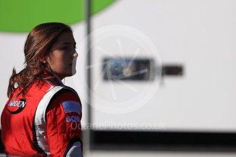 World © Octane Photographic Ltd. Arden International – GP3/16 – Tatiana Calederon. Sunday 28th August 2016, GP3 Race 2, Spa-Francorchamps, Belgium. Digital Ref : 1689LB1D1379