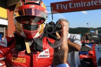 World © Octane Photographic Ltd. ART Grand Prix – GP3/16 – Charles Leclerc. Saturday 27th August 2016, GP3 Race 1, Spa-Francorchamps, Belgium. Digital Ref : 1683LB2D4271