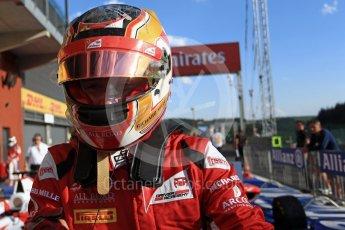 World © Octane Photographic Ltd. ART Grand Prix – GP3/16 – Charles Leclerc. Saturday 27th August 2016, GP3 Race 1, Spa-Francorchamps, Belgium. Digital Ref : 1683LB2D4274
