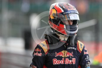 World © Octane Photographic Ltd. Red Bull Racing RB12 – Max Verstappen. Saturday 9th July 2016, F1 British GP Practice 3, Silverstone, UK. Digital Ref : 1625LB1D3529