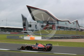 World © Octane Photographic Ltd. Scuderia Toro Rosso STR11 – Daniil Kvyat. Friday 8th July 2016, F1 British GP Practice 1, Silverstone, UK. Digital Ref : 1619LB5D5451