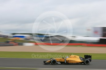 World © Octane Photographic Ltd. Renault Sport F1 Team RS16 – Jolyon Palmer. Friday 8th July 2016, F1 British GP Practice 1, Silverstone, UK. Digital Ref : 1619LB5D5515