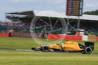 World © Octane Photographic Ltd. Renault Sport F1 Team RS16 – Jolyon Palmer. Friday 8th July 2016, F1 British GP Practice 2, Silverstone, UK. Digital Ref : 1621LB5D5666