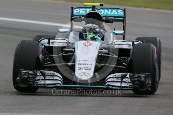 World © Octane Photographic Ltd. Mercedes AMG Petronas W07 Hybrid – Nico Rosberg. Friday 10th June 2016, F1 Canadian GP Practice 1, Circuit Gilles Villeneuve, Montreal, Canada. Digital Ref : 1586LB1D0027