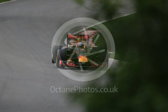 World © Octane Photographic Ltd. Red Bull Racing RB12 – Daniel Ricciardo. Friday 10th June 2016, F1 Canadian GP Practice 1, Circuit Gilles Villeneuve, Montreal, Canada. Digital Ref : 1586LB1D9897