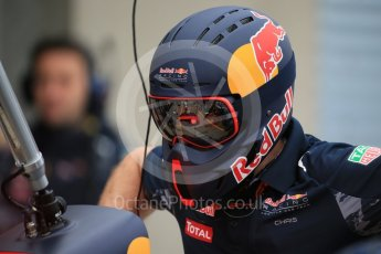 World © Octane Photographic Ltd. Red Bull Racing - Pit crew. Saturday 11th June 2016, F1 Canadian GP Practice 3, Circuit Gilles Villeneuve, Montreal, Canada. Digital Ref :1588LB1D0940