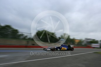 World © Octane Photographic Ltd. Sauber F1 Team C35 – Marcus Ericsson. Saturday 11th June 2016, F1 Canadian GP Practice 3, Circuit Gilles Villeneuve, Montreal, Canada. Digital Ref :1588LB5D9933
