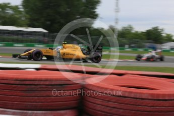 World © Octane Photographic Ltd. Renault Sport F1 Team RS16 – Jolyon Palmer. Saturday 11th June 2016, F1 Canadian GP Qualifying, Circuit Gilles Villeneuve, Montreal, Canada. Digital Ref :1589LB5D0034
