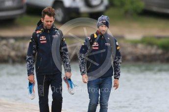 World © Octane Photographic Ltd. Red Bull Racing – Daniel Ricciardo. Sunday 12th June 2016, F1 Canadian GP Paddock, Circuit Gilles Villeneuve, Montreal, Canada. Digital Ref :1590LB1D2708
