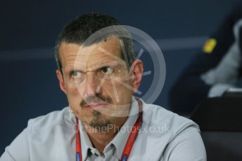 World © Octane Photographic Ltd. F1 Canadian GP FIA Personnel Press Conference, Circuit Gilles Villeneuve, Montreal, Canada. Friday 10th June 2016. Guenther Steiner – Team Principal Haas F1. Digital Ref :1585LB1D0702