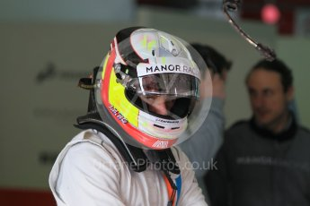 World © Octane Photographic Ltd. Manor Racing MRT05 – Jordan King. Wednesday 18th May 2016. F1 Spanish GP In-season testing, Circuit de Barcelona Catalunya, Spain. Digital Ref : 1556CB1D3478