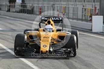 World © Octane Photographic Ltd. Renault Sport F1 Team RS16 – Kevin Magnussen. Wednesday 18th May 2016, F1 Spanish GP In-season testing, Circuit de Barcelona Catalunya, Spain. Digital Ref : 1556CB1D3518