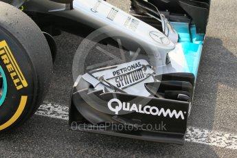World © Octane Photographic Ltd. Mercedes AMG Petronas W07 Hybrid – Pascal Wehrlein. Wednesday 18th May 2016, F1 Spanish In-season testing, Circuit de Barcelona Catalunya, Spain. Digital Ref : 1556CB1D3588