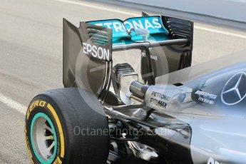 World © Octane Photographic Ltd. Mercedes AMG Petronas W07 Hybrid – Pascal Wehrlein. Wednesday 18th May 2016, F1 Spanish In-season testing, Circuit de Barcelona Catalunya, Spain. Digital Ref : 1556CB1D3592