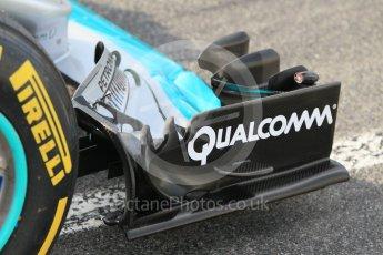 World © Octane Photographic Ltd. Mercedes AMG Petronas W07 Hybrid – Pascal Wehrlein. Wednesday 18th May 2016, F1 Spanish In-season testing, Circuit de Barcelona Catalunya, Spain. Digital Ref : 1556CB1D3615