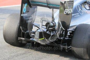 World © Octane Photographic Ltd. Mercedes AMG Petronas W07 Hybrid – Pascal Wehrlein. Wednesday 18th May 2016, F1 Spanish In-season testing, Circuit de Barcelona Catalunya, Spain. Digital Ref : 1556CB1D3626