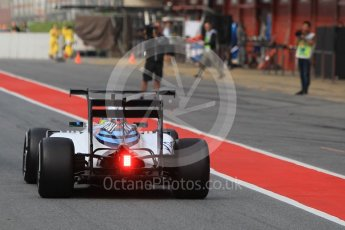 World © Octane Photographic Ltd. Williams Martini Racing, Williams Mercedes FW38 – Felipe Massa. Wednesday 18th May 2016, F1 Spanish GP In-season testing, Circuit de Barcelona Catalunya, Spain. Digital Ref : 1556CB1D3713