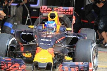 World © Octane Photographic Ltd. Red Bull Racing RB12 – Max Verstappen. Wednesday 18th May 2016, F1 Spanish GP In-season testing, Circuit de Barcelona Catalunya, Spain. Digital Ref : 1556CB1D3727