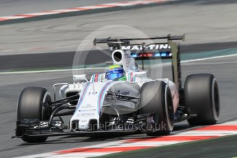 World © Octane Photographic Ltd. Williams Martini Racing, Williams Mercedes FW38 – Felipe Massa. Wednesday 18th May 2016, F1 Spanish GP In-season testing, Circuit de Barcelona Catalunya, Spain. Digital Ref :