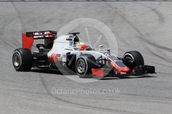 World © Octane Photographic Ltd. Haas F1 Team VF-16 - Esteban Gutierrez. Wednesday 18th May 2016, F1 Spanish GP In-season testing, Circuit de Barcelona Catalunya, Spain. Digital Ref : 1556CB1D4138
