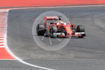 World © Octane Photographic Ltd. Scuderia Ferrari SF16-H – Antonio Fuoco. Wednesday 18th May 2016, F1 Spanish GP In-season testing, Circuit de Barcelona Catalunya, Spain. Digital Ref : 1556CB1D4318