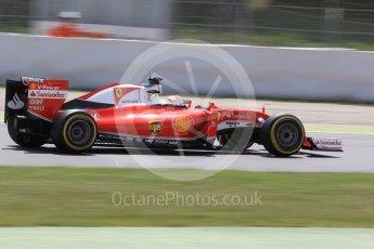 World © Octane Photographic Ltd. Scuderia Ferrari SF16-H – Antonio Fuoco. Wednesday 18th May 2016, F1 Spanish GP In-season testing, Circuit de Barcelona Catalunya, Spain. Digital Ref : 1556CB1D4360