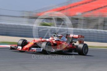 World © Octane Photographic Ltd. Scuderia Ferrari SF16-H – Antonio Fuoco. Wednesday 18th May 2016, F1 Spanish GP In-season testing, Circuit de Barcelona Catalunya, Spain. Digital Ref : 1556CB7D9232