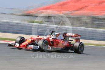 World © Octane Photographic Ltd. Scuderia Ferrari SF16-H – Antonio Fuoco. Wednesday 18th May 2016, F1 Spanish GP In-season testing, Circuit de Barcelona Catalunya, Spain. Digital Ref : 1556CB7D9238