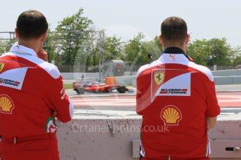 World © Octane Photographic Ltd. Scuderia Ferrari SF16-H – Antonio Fuoco. Wednesday 18th May 2016, F1 Spanish GP In-season testing, Circuit de Barcelona Catalunya, Spain. Digital Ref : 1556CB7D9488
