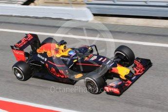 World © Octane Photographic Ltd. Red Bull Racing RB12 – Max Verstappen. Wednesday 18th May 2016, F1 Spanish GP In-season testing, Circuit de Barcelona Catalunya, Spain. Digital Ref : 1556CB7D9660