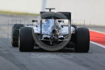 World © Octane Photographic Ltd. Mercedes AMG Petronas W07 Hybrid – Pascal Wehrlein. Wednesday 18th May 2016, F1 Spanish In-season testing, Circuit de Barcelona Catalunya, Spain. Digital Ref : 1556LB1D0156