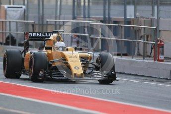 World © Octane Photographic Ltd. Renault Sport F1 Team RS16 – Kevin Magnussen. Wednesday 18th May 2016, F1 Spanish GP In-season testing, Circuit de Barcelona Catalunya, Spain. Digital Ref : 1556LB1D0397